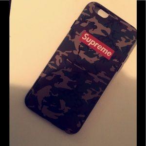 Supreme iPhone 6 case